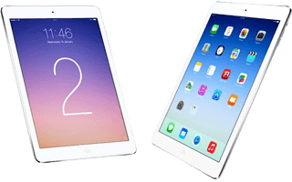 Surfplattan iPad Air 2 från Apple